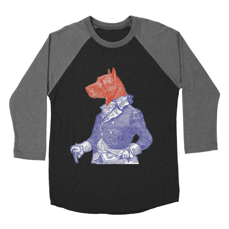 General Dog Women's Baseball Triblend Longsleeve T-Shirt by Artist Shop of Pyramid Expander