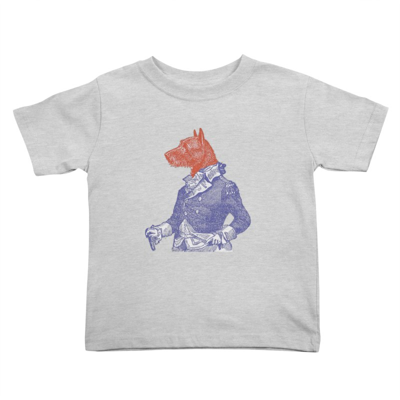 General Dog Kids Toddler T-Shirt by Artist Shop of Pyramid Expander