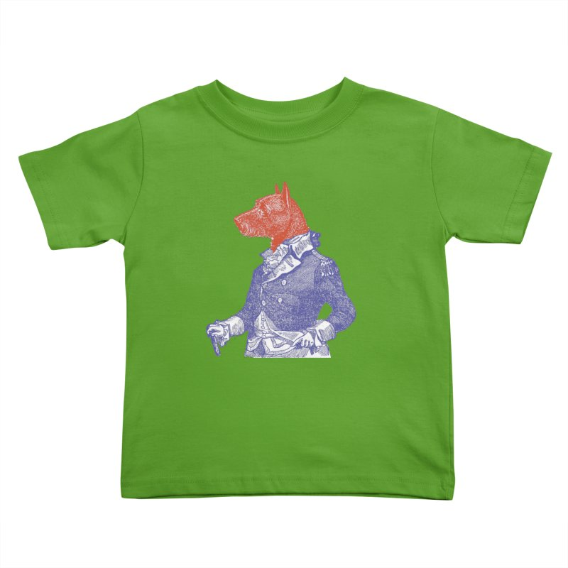 General Dog Kids Toddler T-Shirt by Artist Shop of Pyramid Expander