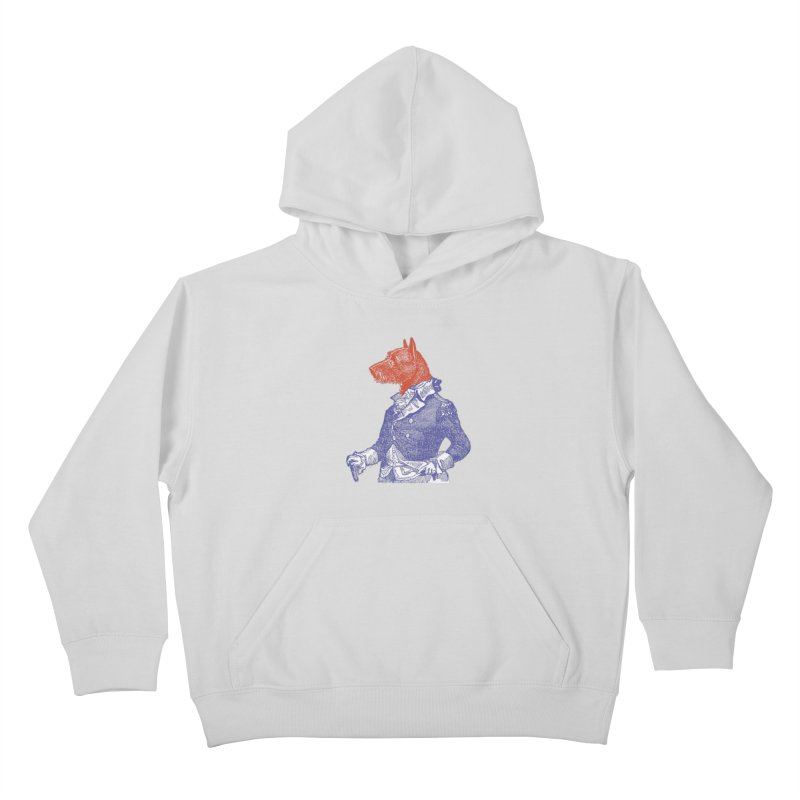 General Dog Kids Pullover Hoody by Artist Shop of Pyramid Expander