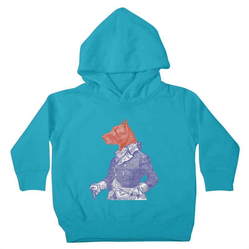 General Dog Kids Toddler Pullover Hoody by Artist Shop of Pyramid Expander