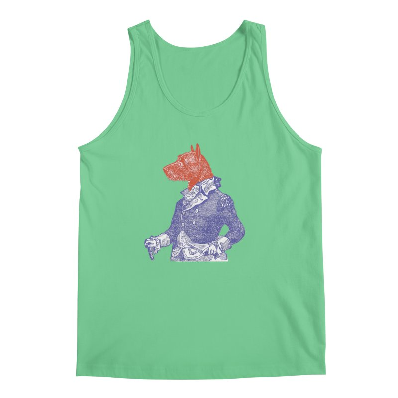 General Dog Men's Tank by Artist Shop of Pyramid Expander