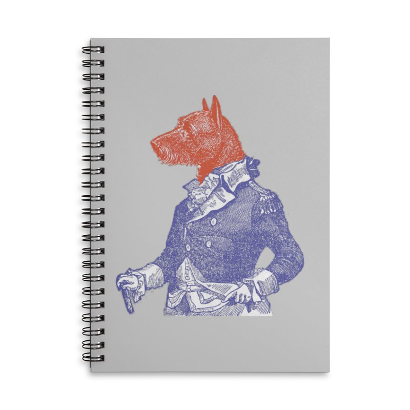 General Dog Accessories Lined Spiral Notebook by Artist Shop of Pyramid Expander