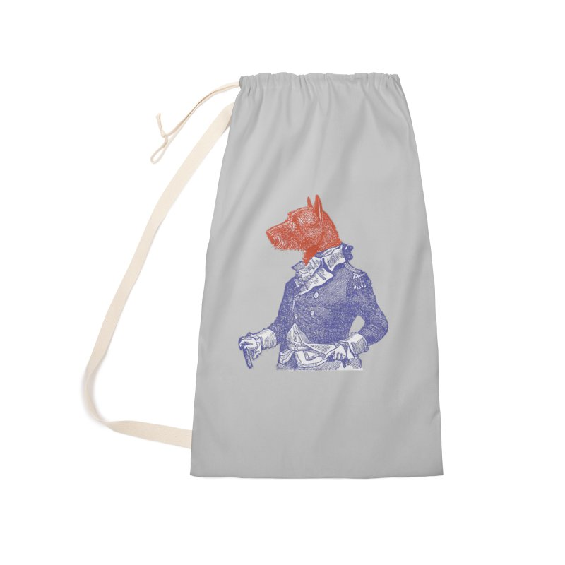 General Dog Accessories Laundry Bag Bag by Artist Shop of Pyramid Expander