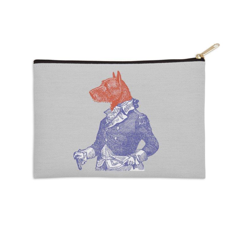 General Dog Accessories Zip Pouch by Artist Shop of Pyramid Expander