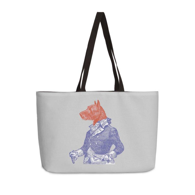 General Dog Accessories Weekender Bag Bag by Artist Shop of Pyramid Expander
