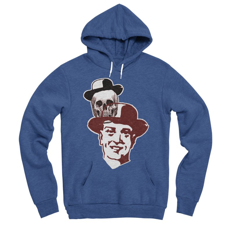 Procession Through Time Men's Sponge Fleece Pullover Hoody by Artist Shop of Pyramid Expander