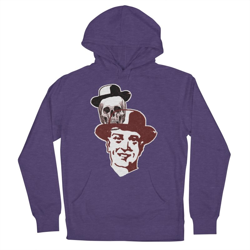 Procession Through Time Women's French Terry Pullover Hoody by Artist Shop of Pyramid Expander