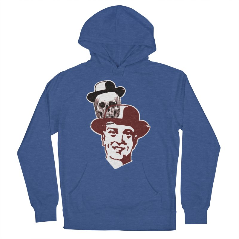 Procession Through Time Men's French Terry Pullover Hoody by Artist Shop of Pyramid Expander