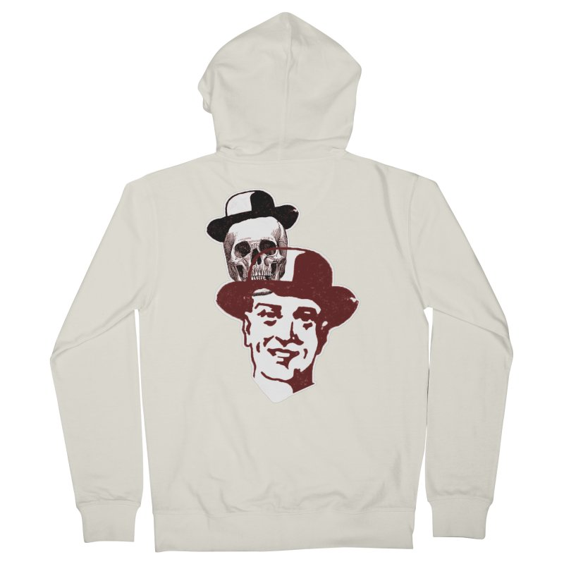 Procession Through Time Men's French Terry Zip-Up Hoody by Artist Shop of Pyramid Expander