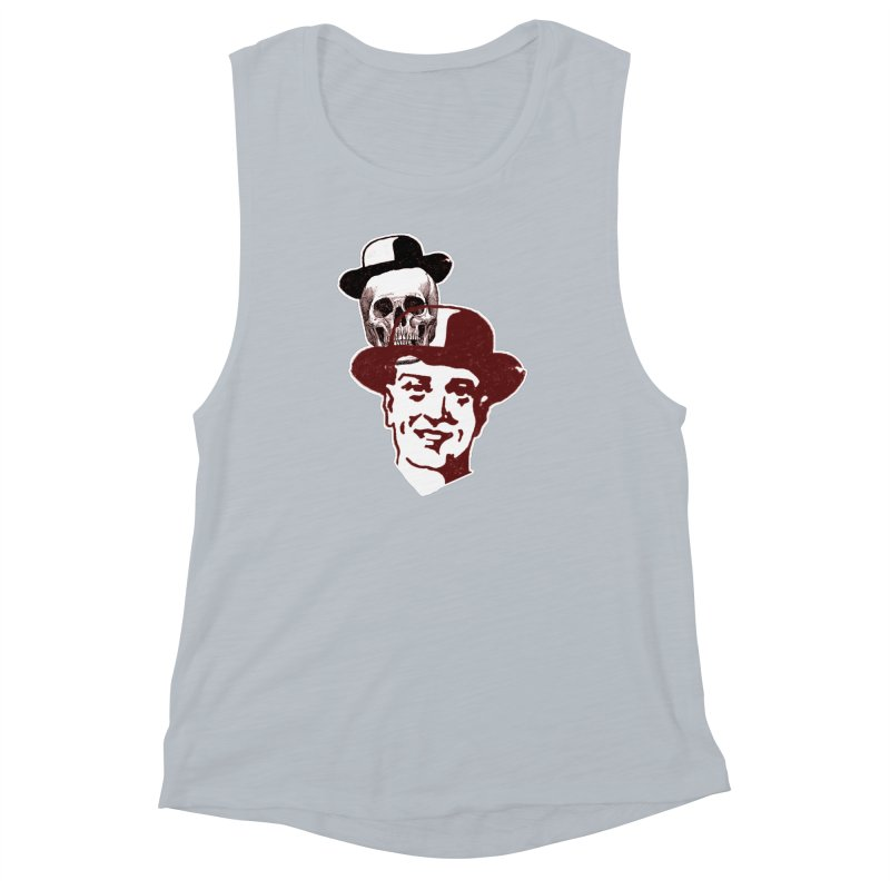 Procession Through Time Women's Muscle Tank by Artist Shop of Pyramid Expander