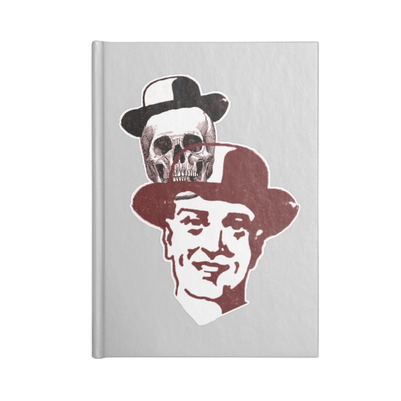 Procession Through Time Accessories Blank Journal Notebook by Artist Shop of Pyramid Expander
