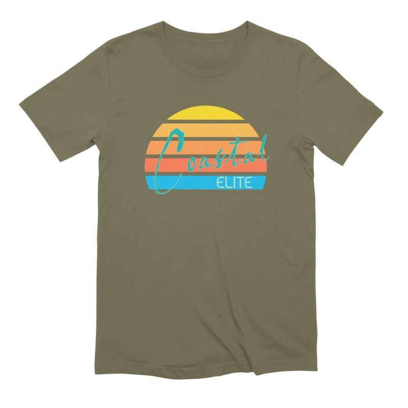 Coastal Elite Men's T-Shirt by Artist Shop of Pyramid Expander