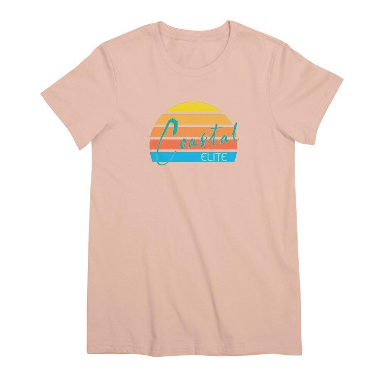 Coastal Elite Women's Premium T-Shirt by Artist Shop of Pyramid Expander