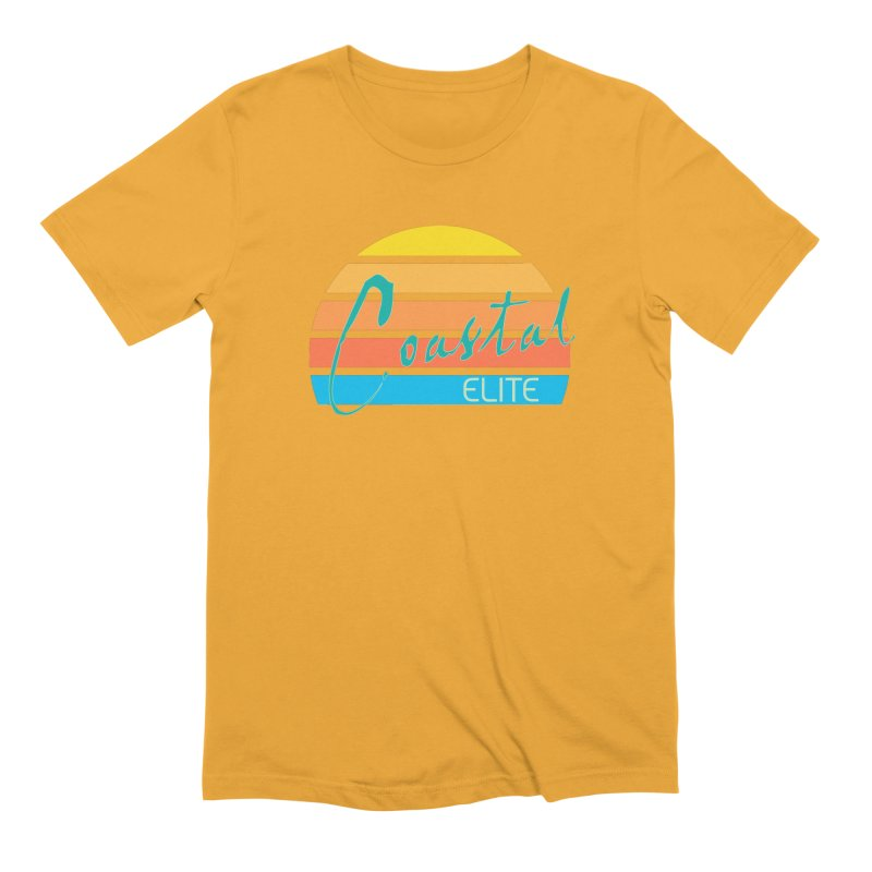 Coastal Elite Men's Extra Soft T-Shirt by Artist Shop of Pyramid Expander