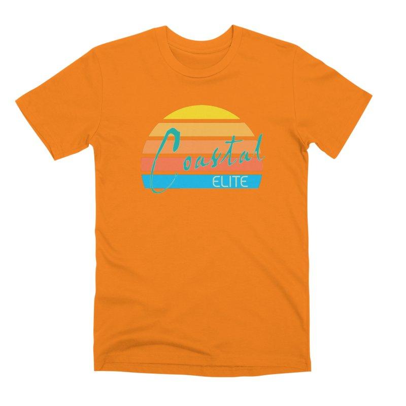 Coastal Elite Men's Premium T-Shirt by Artist Shop of Pyramid Expander