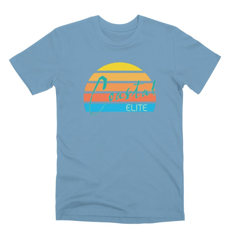 Coastal Elite Men's Premium T-Shirt by Artist Shop of Pyramid Expander