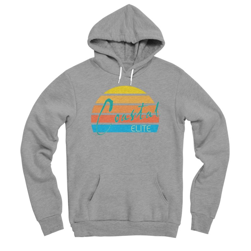 Coastal Elite Women's Sponge Fleece Pullover Hoody by Artist Shop of Pyramid Expander