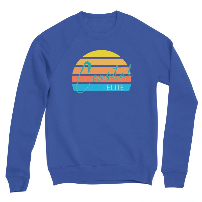Coastal Elite Men's Sponge Fleece Sweatshirt by Artist Shop of Pyramid Expander