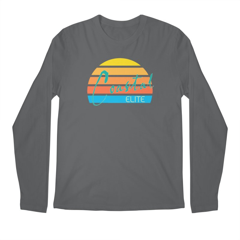 Coastal Elite Men's Longsleeve T-Shirt by Artist Shop of Pyramid Expander