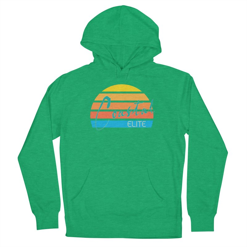 Coastal Elite Men's French Terry Pullover Hoody by Artist Shop of Pyramid Expander