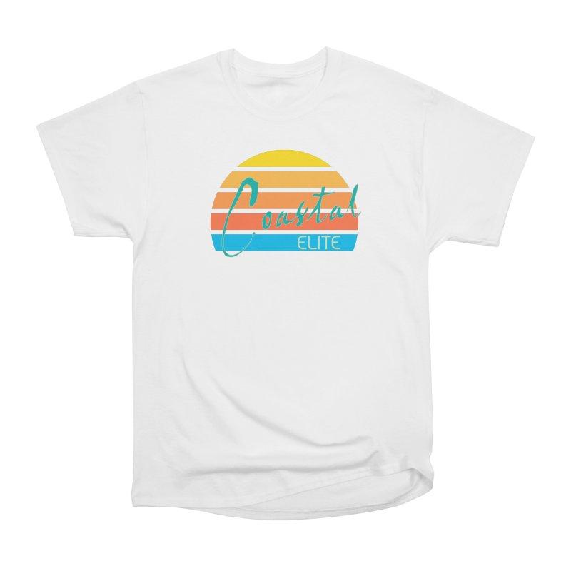 Coastal Elite Men's Heavyweight T-Shirt by Artist Shop of Pyramid Expander