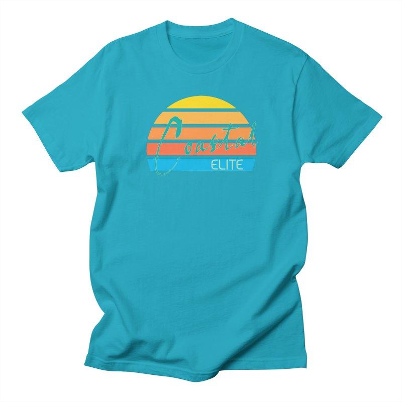 Coastal Elite Women's Regular Unisex T-Shirt by Artist Shop of Pyramid Expander