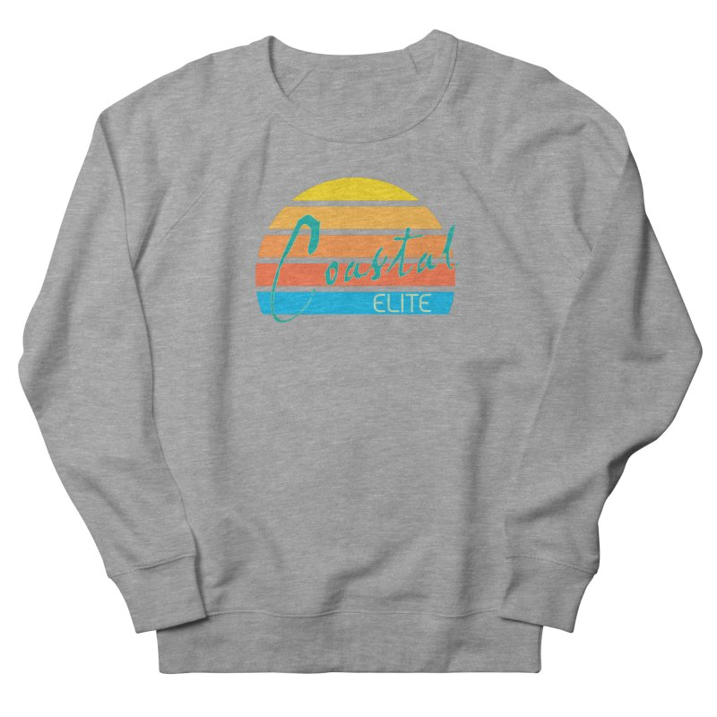 Coastal Elite Women's French Terry Sweatshirt by Artist Shop of Pyramid Expander