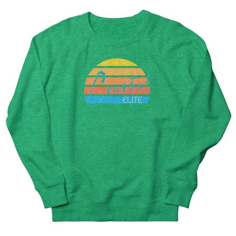 Coastal Elite Men's French Terry Sweatshirt by Artist Shop of Pyramid Expander