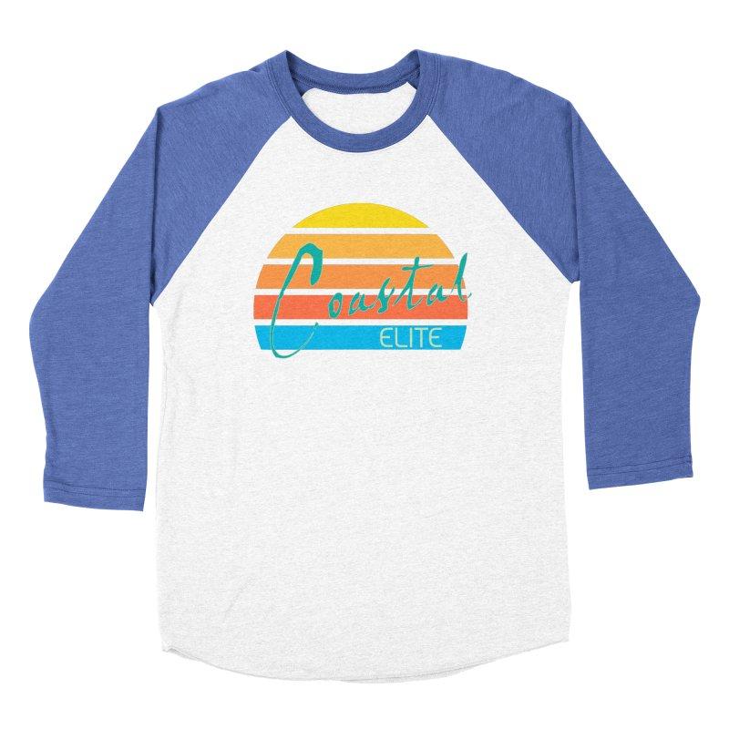 Coastal Elite Women's Baseball Triblend T-Shirt by Artist Shop of Pyramid Expander