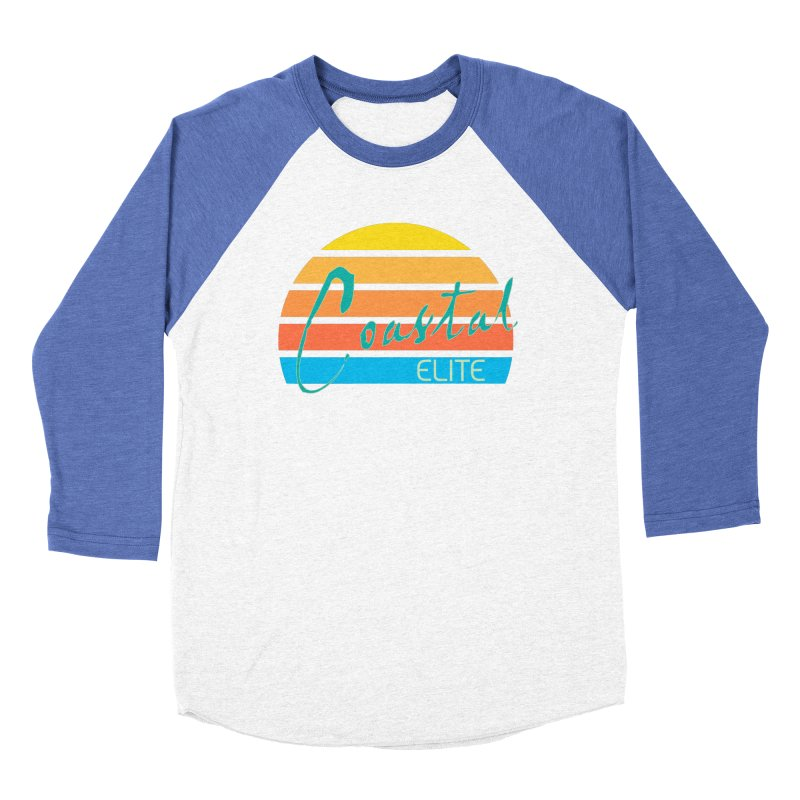 Coastal Elite Men's Baseball Triblend T-Shirt by Artist Shop of Pyramid Expander