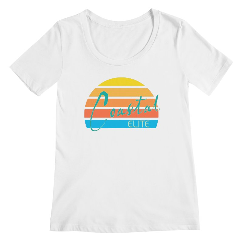 Coastal Elite Women's Scoopneck by Artist Shop of Pyramid Expander