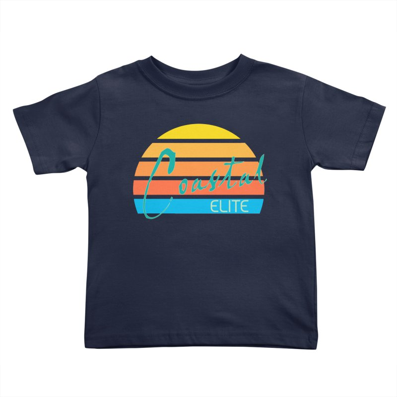 Coastal Elite Kids Toddler T-Shirt by Artist Shop of Pyramid Expander