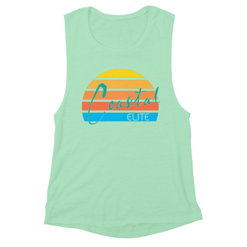 Coastal Elite Women's Muscle Tank by Artist Shop of Pyramid Expander