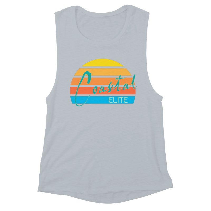 Coastal Elite Women's Muscle Tank by Artist Shop of Pyramid Expander