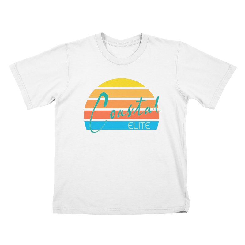 Coastal Elite Kids T-shirt by Artist Shop of Pyramid Expander
