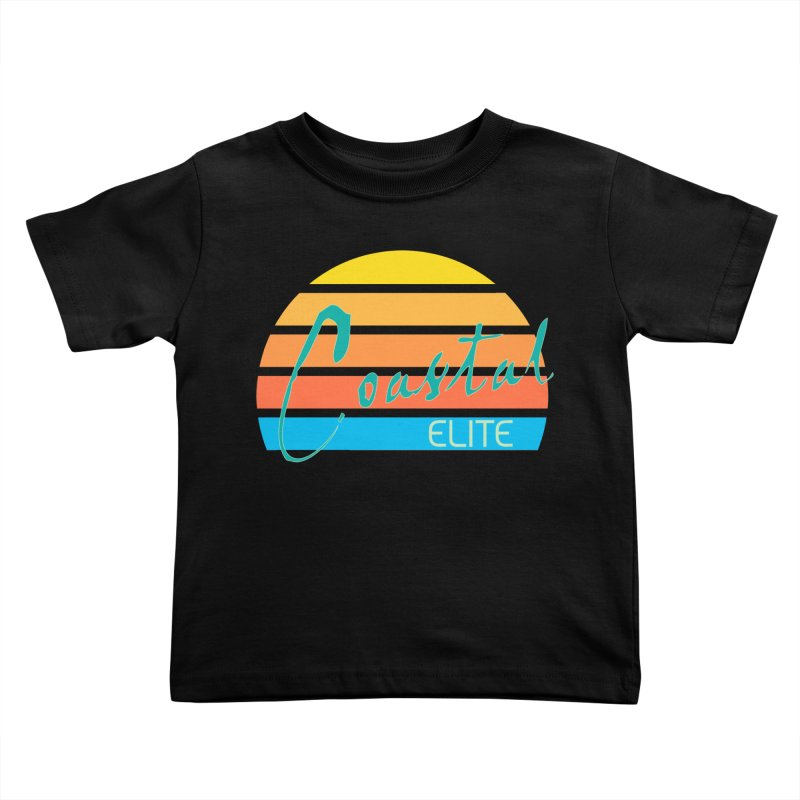 Coastal Elite Kids Toddler T-Shirt by Artist Shop of Pyramid Expander