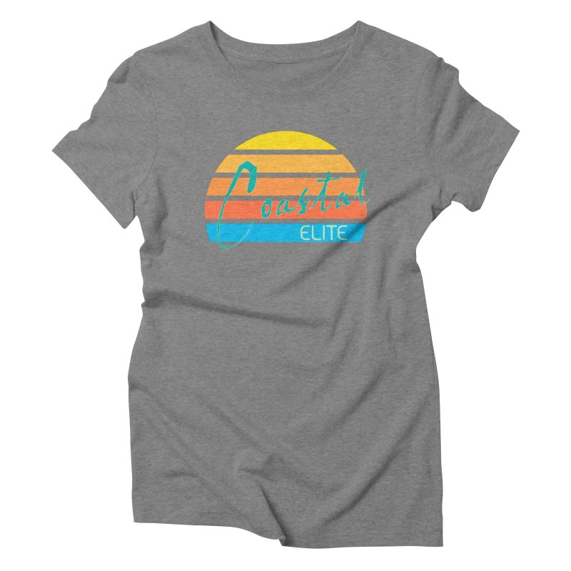 Coastal Elite Women's Triblend T-Shirt by Artist Shop of Pyramid Expander