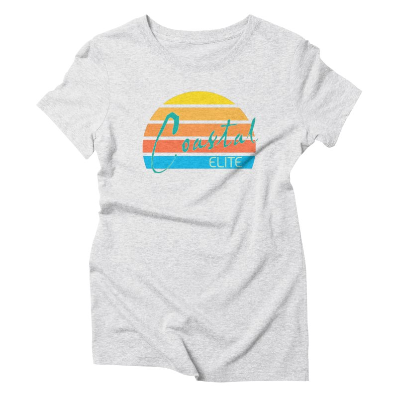 Coastal Elite Women's Triblend T-Shirt by Artist Shop of Pyramid Expander