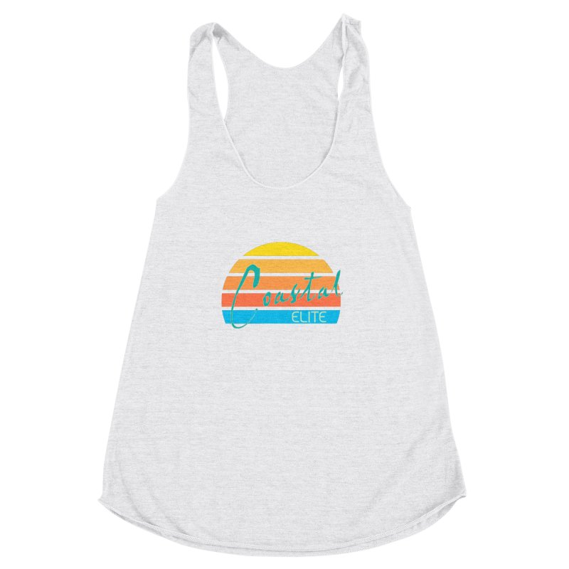 Coastal Elite Women's Racerback Triblend Tank by Artist Shop of Pyramid Expander