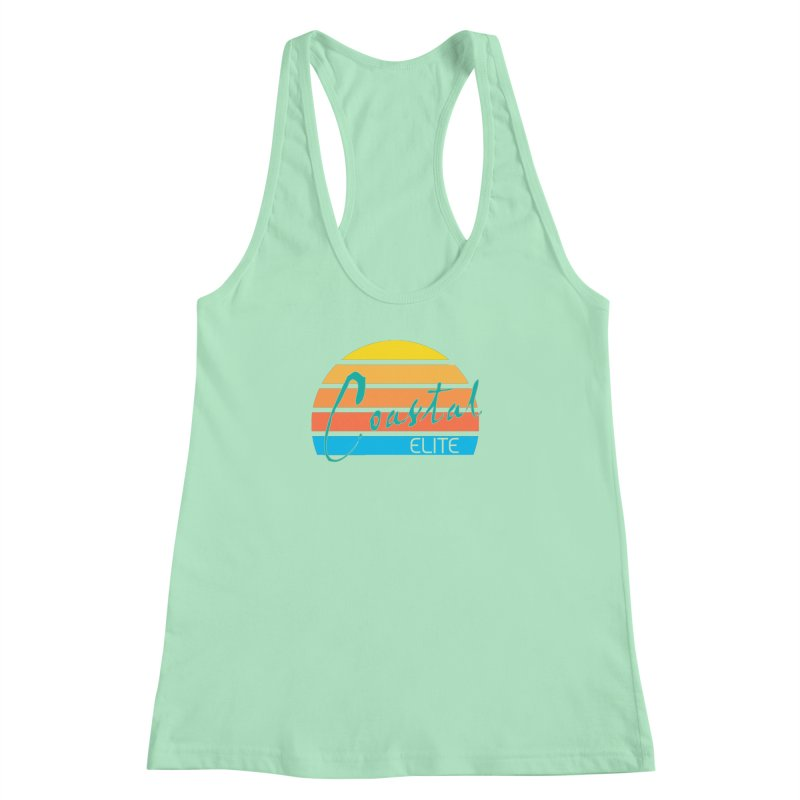 Coastal Elite Women's Racerback Tank by Artist Shop of Pyramid Expander