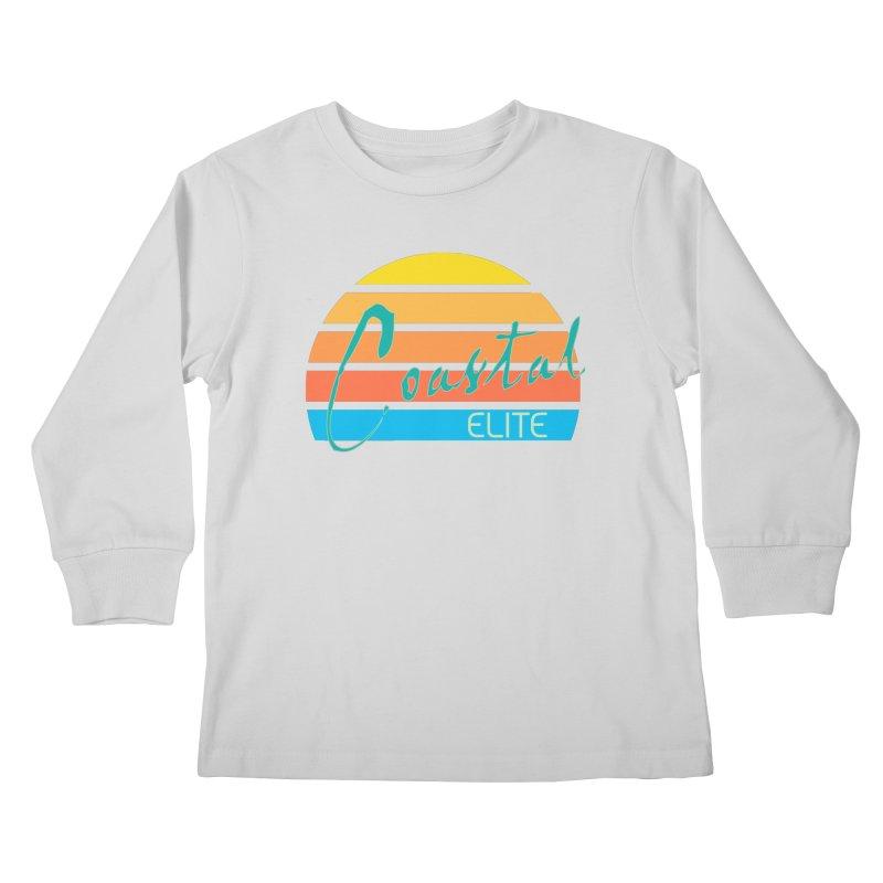 Coastal Elite Kids Longsleeve T-Shirt by Artist Shop of Pyramid Expander