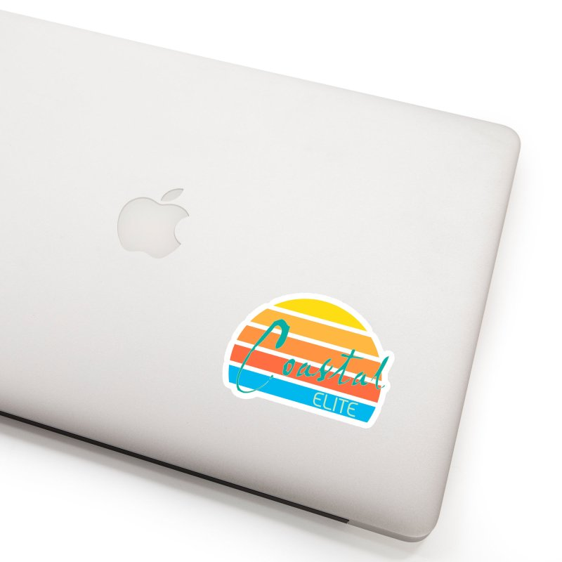 Coastal Elite Accessories Sticker by Artist Shop of Pyramid Expander