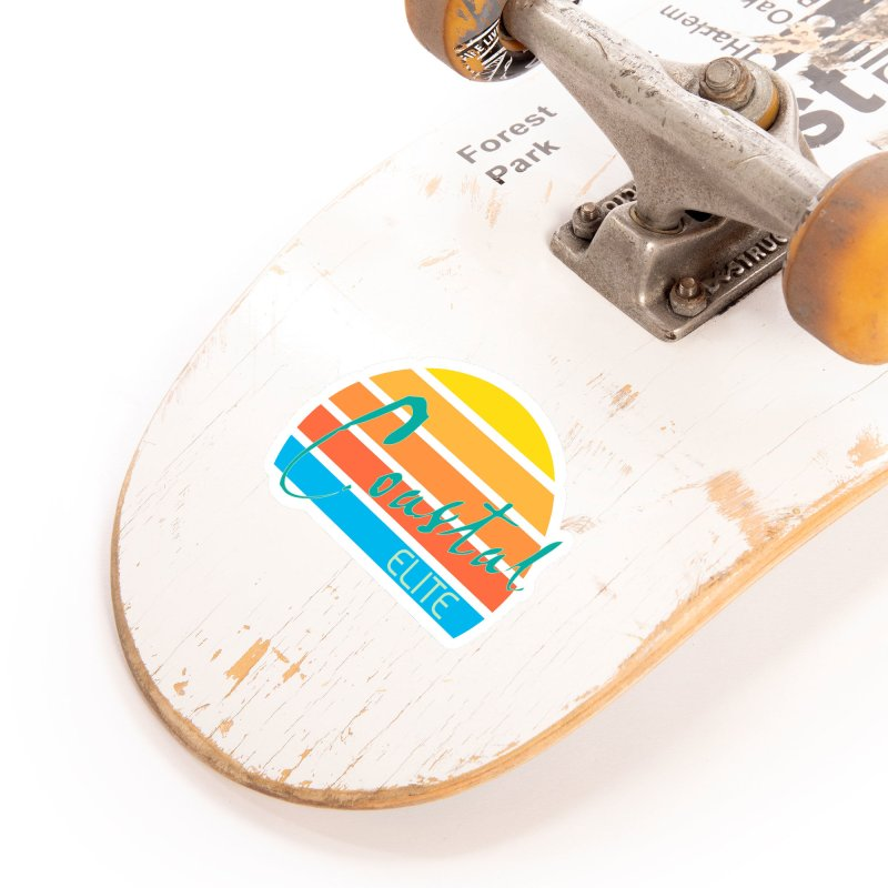 Coastal Elite Accessories Sticker by Artist Shop of Pyramid Expander