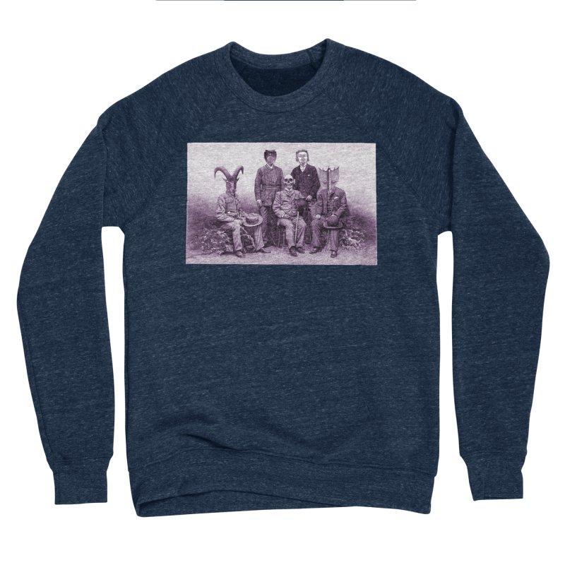 5 Figures Men's Sponge Fleece Sweatshirt by Artist Shop of Pyramid Expander