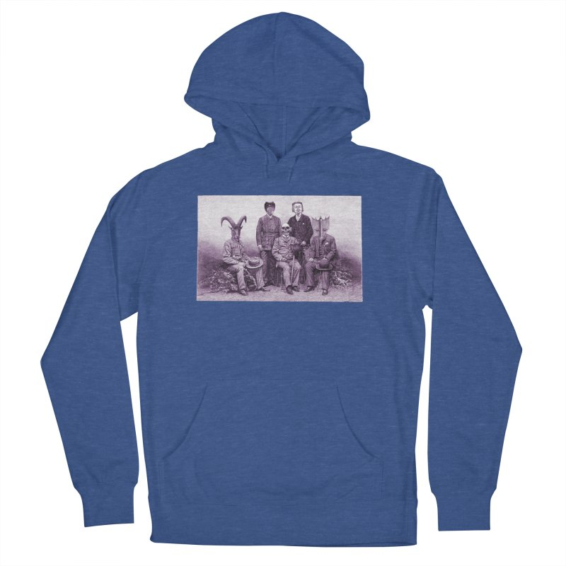 5 Figures Women's Pullover Hoody by Artist Shop of Pyramid Expander