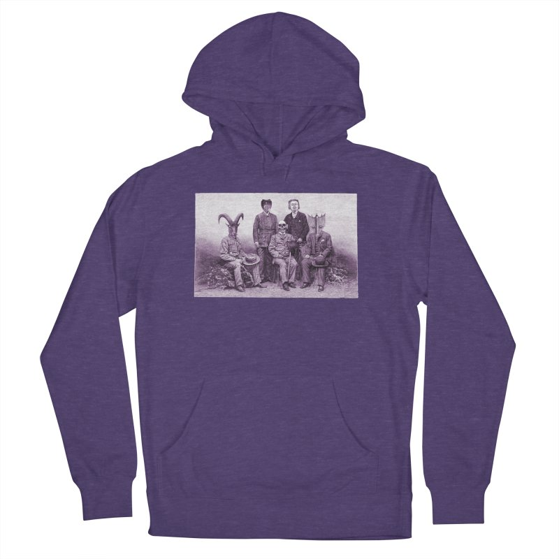 5 Figures Women's French Terry Pullover Hoody by Artist Shop of Pyramid Expander