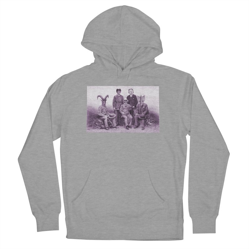 5 Figures Men's French Terry Pullover Hoody by Artist Shop of Pyramid Expander