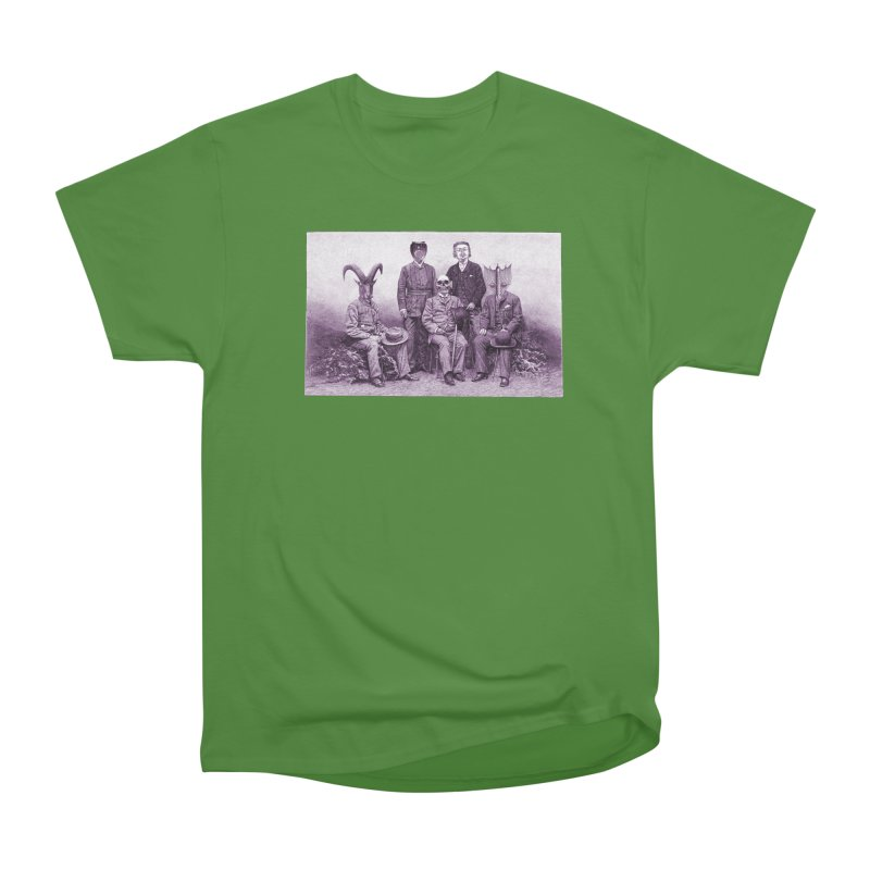 5 Figures Women's Classic Unisex T-Shirt by Artist Shop of Pyramid Expander