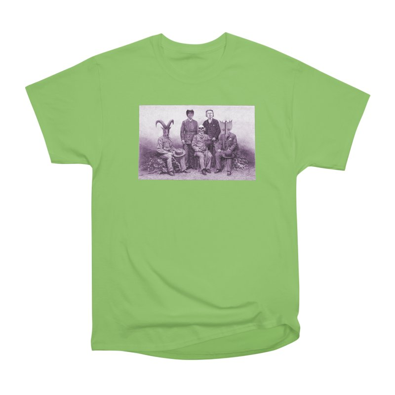 5 Figures Women's Heavyweight Unisex T-Shirt by Artist Shop of Pyramid Expander
